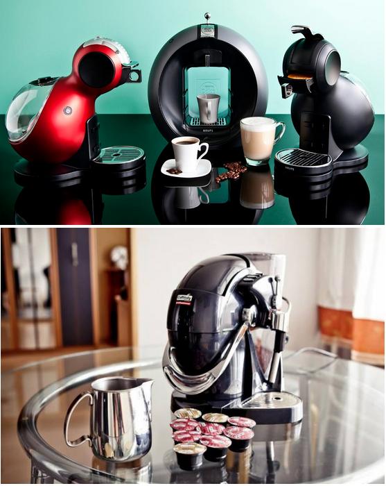 модель капскльных кофемашин