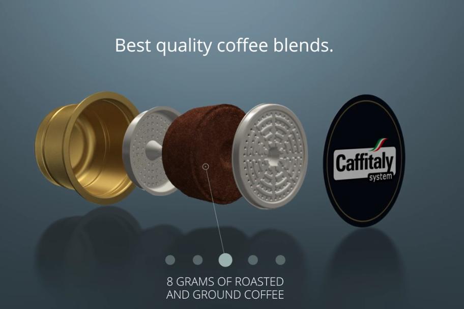 состав капсульного кофе caffitaly