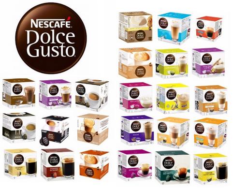 капсульный кофе Dolce Gusto