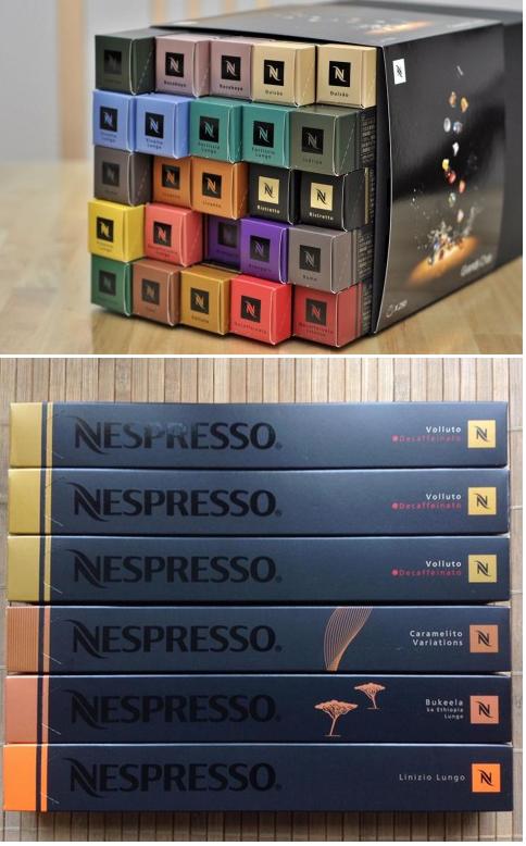 магазин капсульного кофе Nespresso