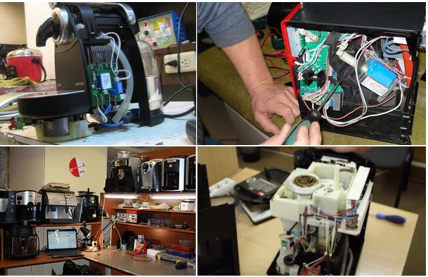 ремонт капсульной кофемашины