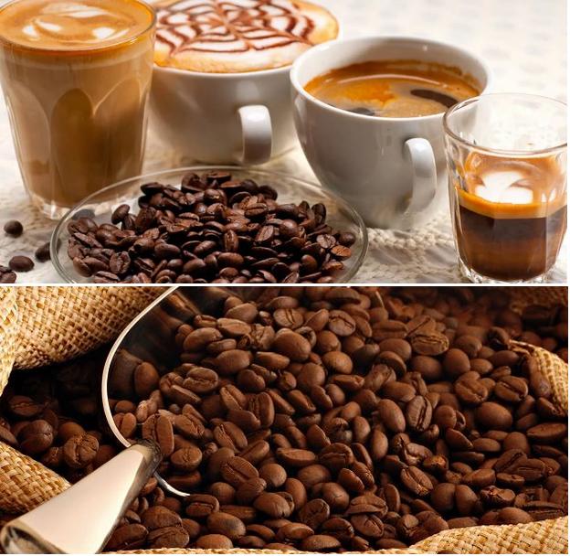 вкусный зерновой кофе